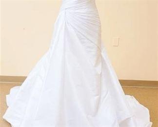 San Patrick Size 10 White Bridal Gown