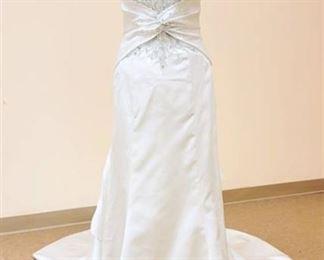 Impression Bridal size 12 White Bridal Gown
