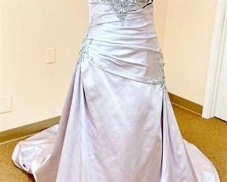 Impression Bridal Size 12 Light Lilac Color Wedding Event Gown
