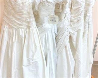 Fabulous Five - Lot of Designer Sample Bridal Gowns