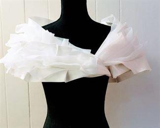 Jasmine Haute Couture Size 12 Ivory Designer Wedding Bridal Bolero Shrug