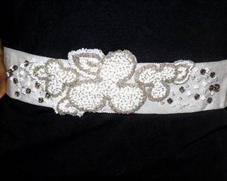 "lesACCESSORIES Barcelona Bridal Belt Size 00 measures 132"" Long"