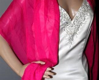 (5) Event, Bridal, Formal Wraps Sashes including Pronovia of Barcelona