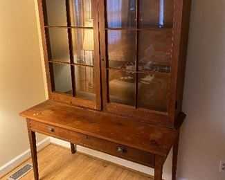 Early Pegged Desk from Surry County, N.C.