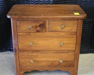 3705 Small 4 Drawer Chest