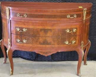 3721 French Bow Front Chest