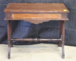 3731 Victorian Library Table