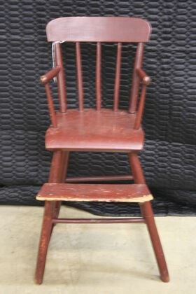 4672 Painted Youth Chair