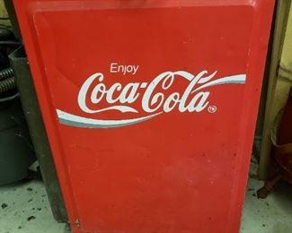Vintage Coca-Cola Small Refrigerator