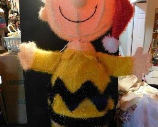 Charlie Brown Yard Ornament