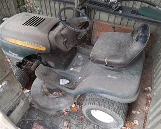 CRAFTSMAN LT1000 17.5 HP MOWER, Condition?