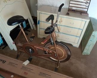 VINTAGE SCHWINN EXERCISE BIKE