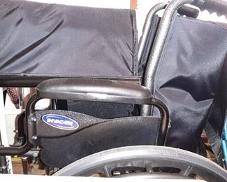 VIEW OF WHEEL CHAIR
