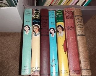 "VINTAGE ""CHERRY AMES"" NURSE BOOKS"