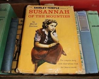 "1936 SHIRLEY TEMPLE ""SUSANNA OF THE MOUNTIES"""