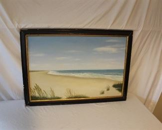 Framed Artwork - Down by the Sea