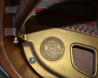 Kawaii model 500 baby grand piano