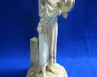 Royal Worcester Egyptian Revival Figurine