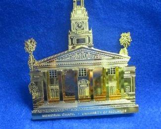 Redlands University Memorial Chapel Ornament