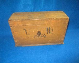 1874 Document Trunk Box