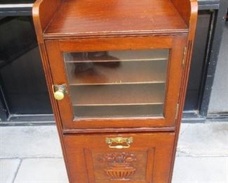 Aesthetic Victorian Sheet Music Cabinet