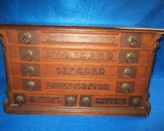 Merricks Spool Cabinet in a Victorian Renaissance Revival Style