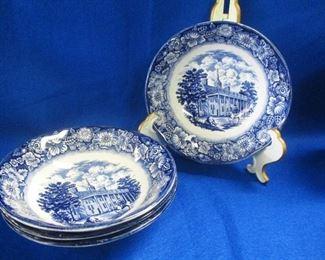 Liberty Blue Bowls