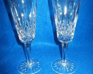 Waterford Lismore Flutes
