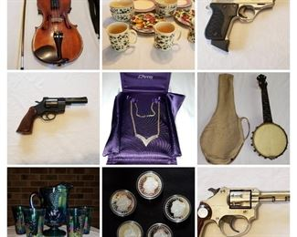 all kinds of uniques and vintage in this sale