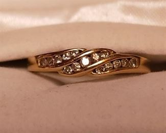 quality 14k diamond wedding ring
