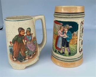 Antique Beer Mugs