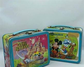 Vintage Walt Disney World Lunchboxes