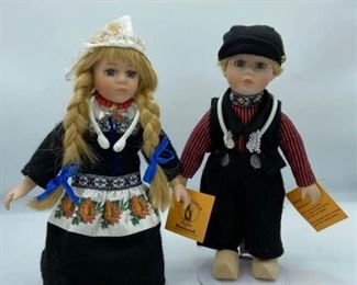 Waterland Holland Traditional Costume Dolls