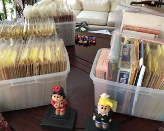 Every printed Little Lulu comic and bookends