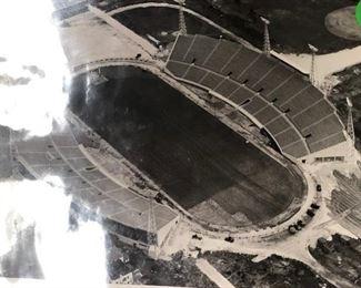 ORANGE BOWL MIAMI CONSTRUCTION PHOTOGRAPH