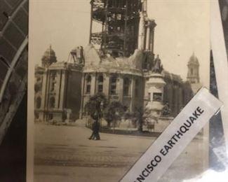 1906 ORIGINAL SAN FRANCISCO EARTHQUAKE PHOTOGRAPH