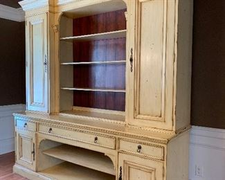 """Beautiful Aegean Cupboard with Hutch                             (from Green Front Interiors) 96""""L x 28""""Wx103""""H"""