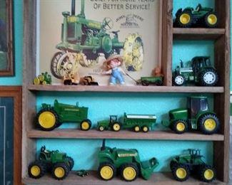 John Deere tractor collectibles