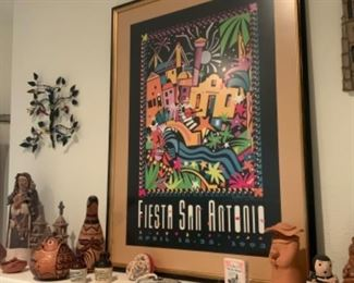 Fiesta San Antonio April 16-25 Framed Picture