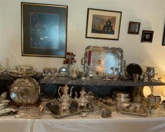 Reed & Barton Winthrop Silver-plate Tea Set