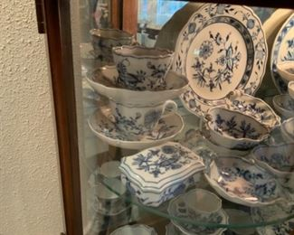 More Meissen Blue Onion China
