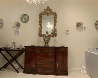 Sligh Buffet Purchased from Stowers Furniture Store in San Antonio