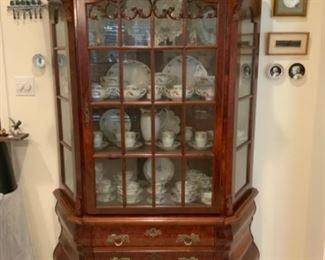 Beautiful Bombay China Cabinet With Three Shelves