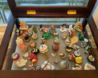 Huge Collection Of Miniature Trinket Boxes