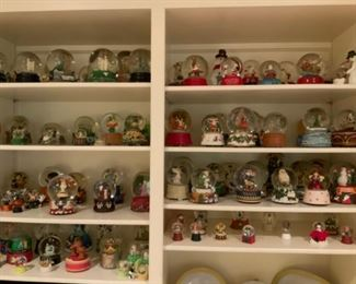 Huge Snow Globe Collection