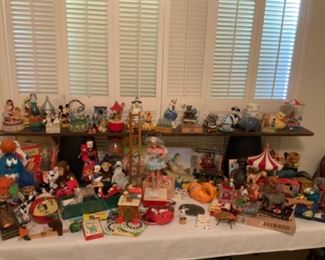 Vintage Toy & Bank Collection