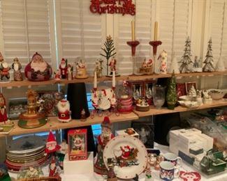 Christmas Decor Including Hallmark & Lenox
