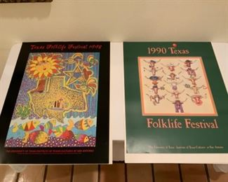 The University of Texas Folklife Posters