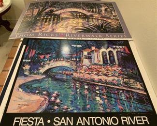 Thom Ricks Riverwalk Series Posters