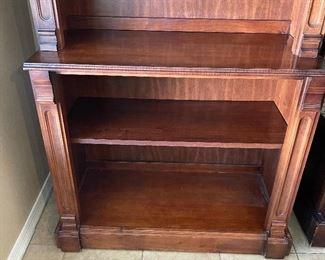 Pulaski Cherrywood Bookcase #193x34x16inHHxWxD